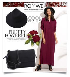 """""""ROMWE 5"""" by melisa-hasic ❤ liked on Polyvore"""