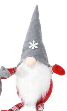 Large Gnome with Plaid Britches