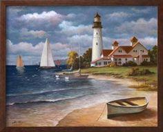 Faro II Obra de arte por T. C. Chiu en AllPosters.com.ar.