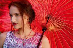 """Robe """"Crossandra"""", boucles d'oreilles """"Mizu"""" & ras de cou """"Pompon"""" // Storymode collection Printemps Été 2016 - La Fiancée du Mekong #lafiancéedumekong #robe #bijoux #collier #storymode#collection#printemps#été #2016"""