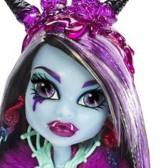Sweet Screams Abbey (close up) New Monster High Dolls, Monster High Abbey, Love Monster, Monster Girl, Ever After High, New Dolls, Collectible Figurines, Very Lovely, Custom Dolls