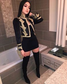 Pin by Mode on Kleider in 2019 Boujee Outfits, Stage Outfits, Classy Outfits, Trendy Outfits, Fashion Outfits, Womens Fashion, Fashion Trends, Fashion Edgy, Fashion 2018