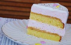 Erdbeer-Karamell-Torte oder auch ein kleiner Karamell-Erdbeer-Traum von Fräulein Ella