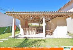 Área de Lazer e Churrasqueira do Village Cosabella é um condomínio de casas da MRV Engenharia em Campinas/SP.