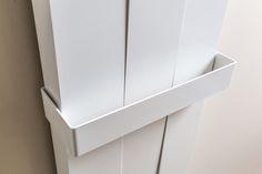 Particolare barra portasalviette Piano Move, #radiator #ridea #design