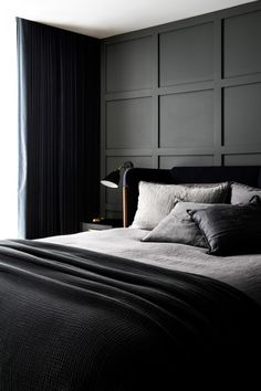 10 ways to make your bedroom more peaceful. From sweet scents to cool colours, there are so many simple and easy things you can do to ensure you're getting the good night's sleep you deserve. Modern Bedroom Design, Contemporary Bedroom, Interior Design Studio, Modern Interior Design, Peaceful Bedroom, Couple Bedroom, House Beds, Luxurious Bedrooms, Home Decor Bedroom