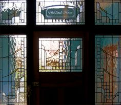Art Deco door surround by Adelaide Leadlight Centre