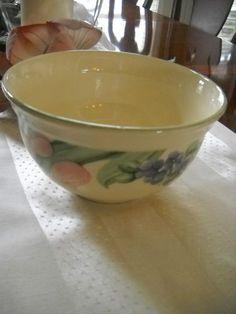 Pfaltzgraff Garden Party Tulip Cherry Large Ice Cream Soup Small Serving Bowl | eBay