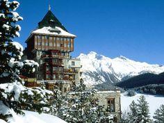Badrutt's Palace: St. Moritz, Switzerland