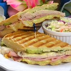From Mexican tacos and enchiladas, to Cuban sandwiches and Brazilian lemonade, Allrecipes has more than kitchen-approved Latin American recipes. George Foreman Recipes, George Foreman Grill, Healthy Grilling, Grilling Recipes, Cooking Recipes, Healthy Recipes, Cuban Sandwich, Sandwich Recipes, Leche Flan