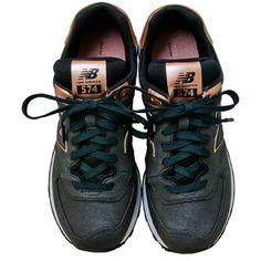 New Balance Women's 574 Precious Metals Charcoal Low-Top Sneaker
