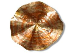 A little more abstract than the other copper disks.
