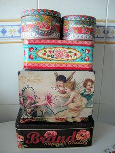 cajas viejas