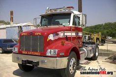 San Antonio Fire Department Special Vehicles