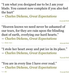 Can someone give me an easy topic to write about on Great Expectations?