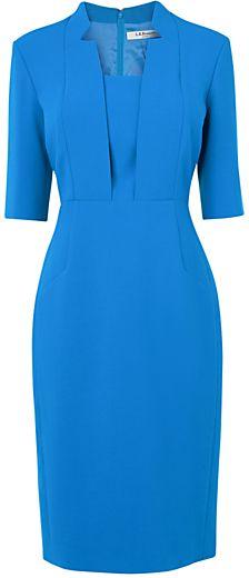 LK Bennett Detroit Dress, Snorkel Blue -- 08/05/14