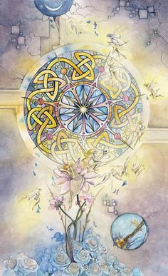 Shadowscapes Tarot Wheel of Fortune SH-10