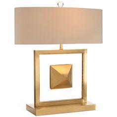 John Richard The Floating Pyramid Table Lamp