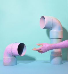 art direction | pipes + hand still life photography