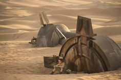 Rey is a resilient survivor, a scavenger toughened by a lifetime of dealing with the cutthroats of the harsh desert world of Jakku.