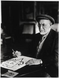 Henri Matisse, 1933.Photo : Rosa Klein (1869-1954) artiste français, principal représentant du mouvement fauve, considéré comme l'un des grands précurseurs de l'art moderne, qui excelle dans l'utilisation des couleurs et des formes comme vecteurs d'un contenu émotionnel