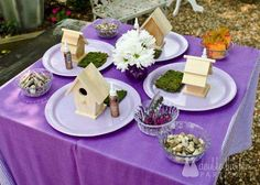 Flower Fairy Party | CatchMyParty.com