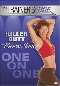 Available in: DVD.Trainer's Edge: Killer Butt features fitness instruction from personal trainer Dolores Munoz that focuses on toning and shaping Workout Dvds, Butt Workout, Workout Videos, Bad Knees, Ankle Weights, Killer Abs, Fitness Design, Fat Burning Workout, Feature Film