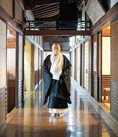 Head monk Hoken Inaba of Hongaku-in