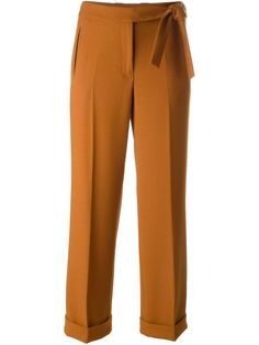 Mauro Grifoni Belted Trousers - Mohge & Maude - Farfetch.com