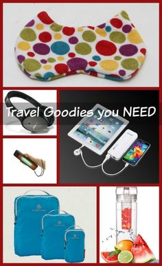 Holiday Travel Tips: 6 Travel Accessories You Absolutely NEED
