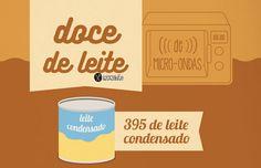 RECEITA-ILUSTRADA 164: Doce de leite no Micro-ondas - http://mixidao.com.br/receita-ilustrada-164-doce-de-leite-no-micro-ondas/