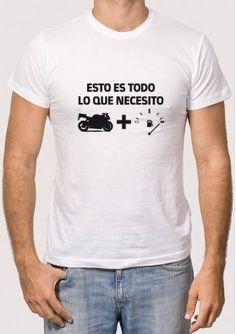 Camiseta Necesita Motero Despedida Soltera Camisetas 991d31780f941