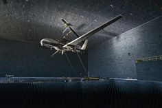 The Navy's MQ-4C Triton Enters The Sci-Fi Realm Of The Anechoic Chamber