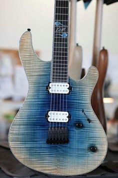 Mayones Guitars BassesRegius!  Sweet burst!