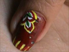 Easy Nail Art For Beginners - easy nail designs for short nails- nail de...