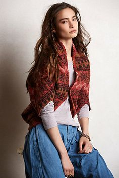 Kapital Cocoon Shrug #anthropologie it is wool and it is beautiful