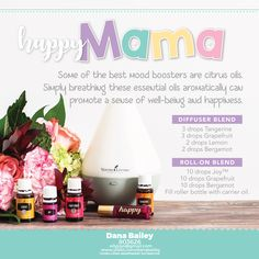 Even during pregnancy, Mama can use Young Living essential oils to support her emotions.