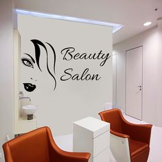 Wall Decal Beauty Salon Hair Salon Fashion Girl Woman Haircut Hairdressing Barbershop Decals Vinyl Sticker Wall Decor Art Mural Dear Buyers, Welcome to