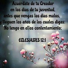 ECLESIASTES 12:1