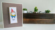 Gnome card Gnomes, Floating Shelves, Cards, Home Decor, Wall Mounted Shelves, Maps, Interior Design, Wall Shelves, Home Interior Design
