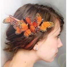 Butterfly headpiece~