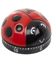 Red Ladybug Kitchen Timer