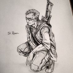 St. Ronan, a calm and principled rebel leader from a story I'm in the midst of writing :) #krasnetigritsa #intjartist