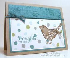 best birds stamp set birds & blooms thinkits - Google Search