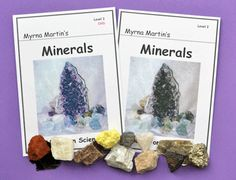 Identifying Minerals for 3rd - 6th grade students - RING OF FIRE SCIENCE HOMESCHOOL materials