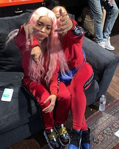 Bff Pictures, Best Friend Pictures, Friend Photos, Estilo Gangster, Gangster Girl, Matching Outfits Best Friend, Best Friend Outfits, Go Best Friend, Best Friend Goals