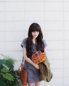New Darlings - Bridge and Burn dress - Autumn bouquet