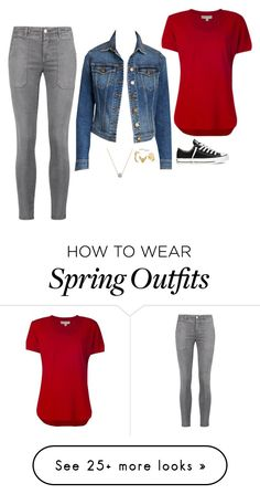 """""""Laurel Lance Inspired Outfit"""" by daniellakresovic on Polyvore featuring Current/Elliott and MICHAEL Michael Kors"""