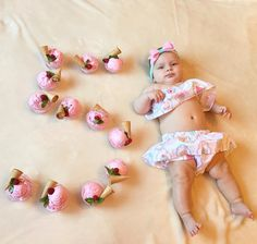 Pin by Frances Nicole on Perfect pictures Newborn Baby Photography, Newborn Photos, Bbg, Monthly Baby Photos, Crochet Baby Sandals, Baby Girl Dress Patterns, Baby Towel, Baby Costumes, Baby Crafts