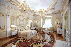 Спальня #3d_visualization #interior